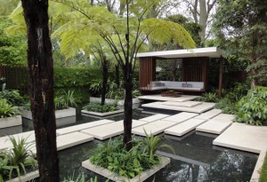 Havedesign på Chelsea Flowershow i London