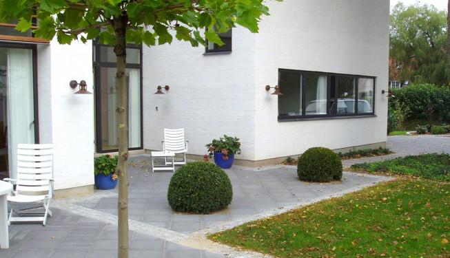 Minimalistisk have Århus