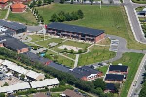Mariager Efterskole AT Luftfoto