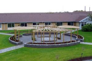 Gårhaver ved Plejecenter Margrethegaarden i Ribe